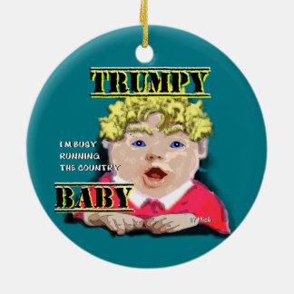 Bebê de Trumpy - ornamento redondo II