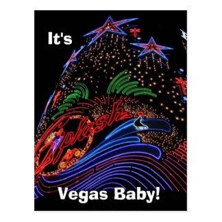 Bebê de Vegas! cartão