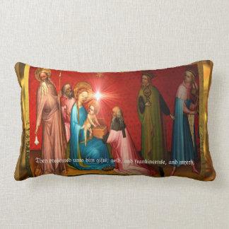 Bebê de visita Jesus Almofada Lombar