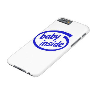 Bebê dentro do caso capa barely there para iPhone 6