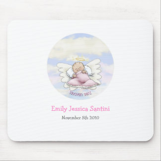 Bebé do anjo mouse pad