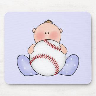 Bebé do basebol de Lil Mouse Pad