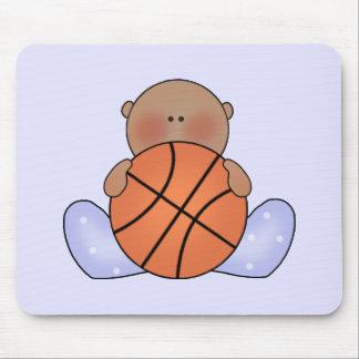 Bebé do basquetebol de Lil - étnico Mousepad