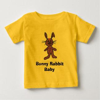 Bebê do coelho de coelho camisetas