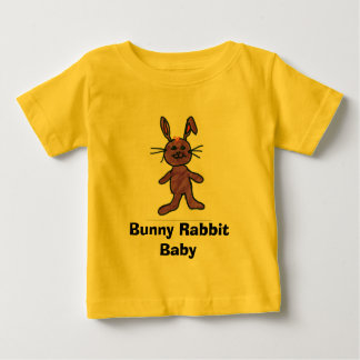 Bebê do coelho de coelho camiseta para bebê