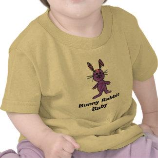 Bebê do coelho de coelho t-shirts