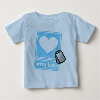 Bebê do exército (boy) camiseta para bebê
