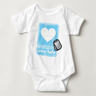 Bebê do exército (boy) t-shirt