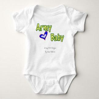 Bebê do exército tshirts