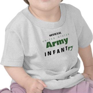Bebê do exército t-shirt