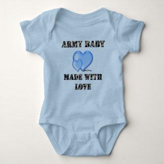 Bebê do exército do menino feito com byDani do Camiseta
