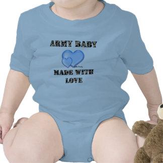 Bebê do exército do menino feito com byDani do Macacões