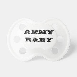 Bebê do exército do Pacifier Chupeta