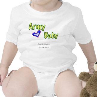 Bebê do exército tshirt