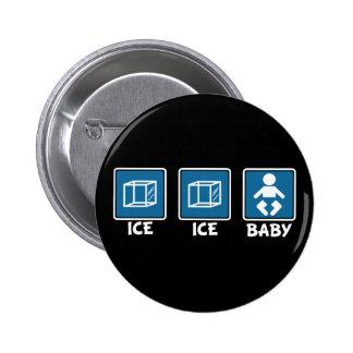 Bebê do gelo do gelo bóton redondo 5.08cm