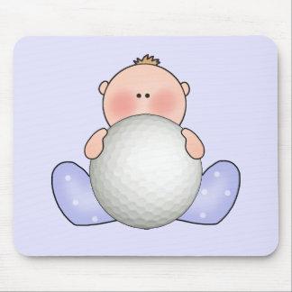 Bebé do golfe de Lil Mousepad