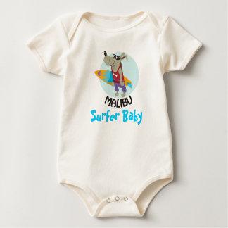bebê do surfista macacões