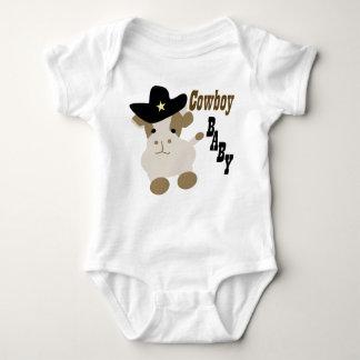 Bebê do vaqueiro body para bebê
