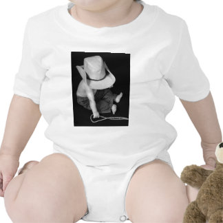 Bebê do vaqueiro/rodeio tshirts