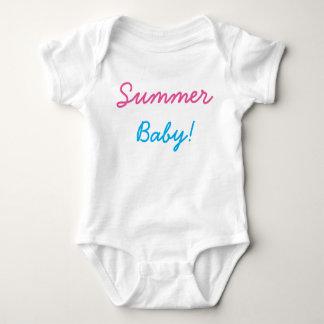 bebê do verão! bodysuit do bebê, ligação em ponte, body para bebê