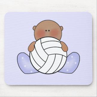 Bebé do voleibol de Lil - étnico Mouse Pad