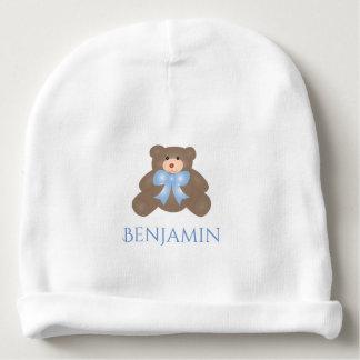 Bebé doce Pastel bonito do urso de ursinho da fita Gorro Para Bebê