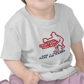 Bebê dos ianques do ódio t-shirts