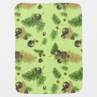 Bebê dos ouriços ou cobertura do animal de estimaç mantas para bebe