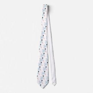 Bebê e cegonha gravata