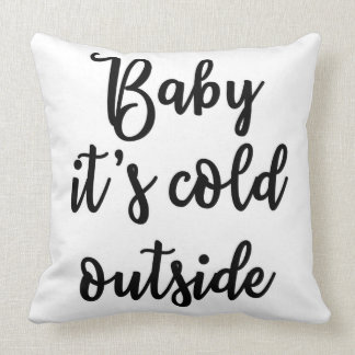 Bebê é travesseiro frio da parte externa almofada