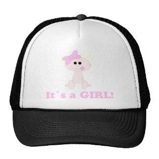 Bebé é um chapéu da menina bone
