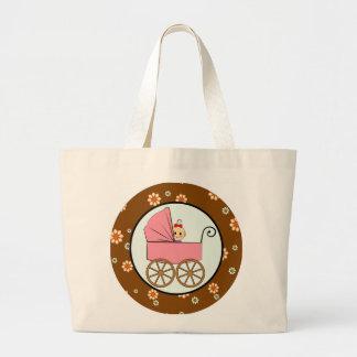 bebé em um carrinho de criança bolsas de lona