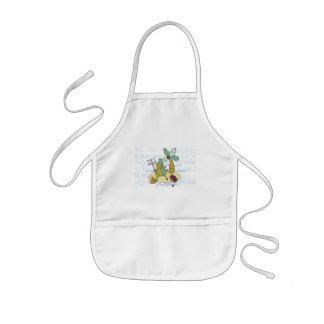 Bebê engraçado avental