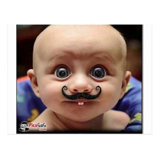 bebê engraçado cartão postal