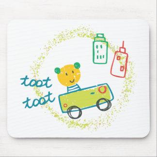 Bebê engraçado mouse pad