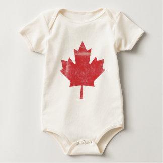 Bebê feito canadense babadores