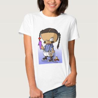 Bebê Hip Hop Gangsta Camisetas