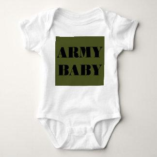 Bebê infantil do exército do Creeper T-shirt