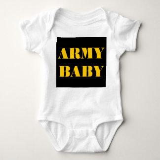 Bebê infantil do exército do Creeper Tshirts