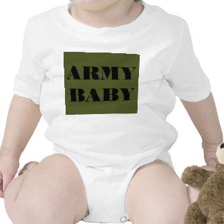 Bebê infantil do exército do Creeper Macacãozinho Para Bebê