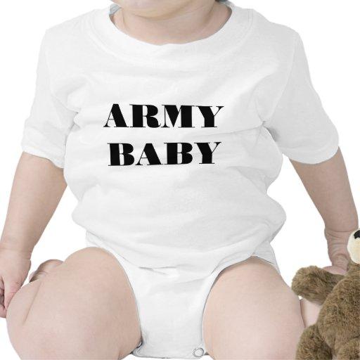 Bebê infantil do exército do Creeper Macacãozinhos Para Bebê