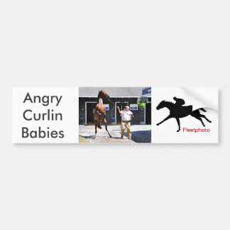Bebê irritado de Curlin Adesivo Para Carro