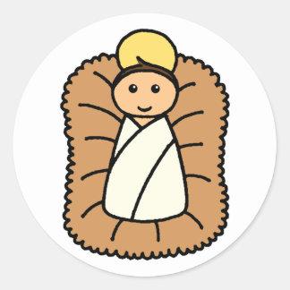 Bebê Jesus Adesivo