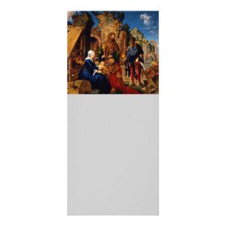 Bebê Jesus do culto dos Magi 10.16 X 22.86cm Panfleto