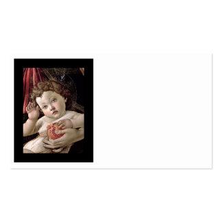 Bebê Jesus que guardara a romã Cartão De Visita
