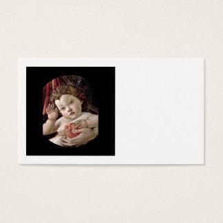 Bebê Jesus que guardara a romã Cartão De Visitas