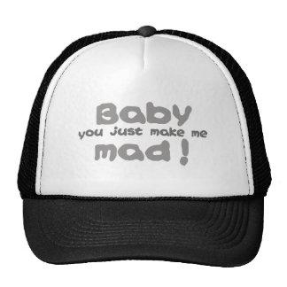 Bebê louco bonés
