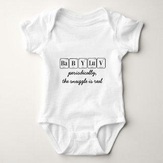 BEBÊ LUV: o snuggle é real (a mesa periódica) Body Para Bebê