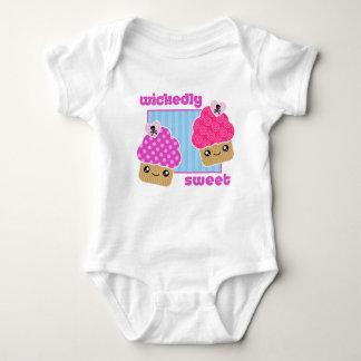 Bebê mà doce dos cupcakes de Kawaii Body Para Bebê