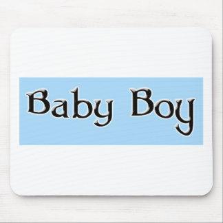 Bebê-Menino-Logotipo Mouse Pad